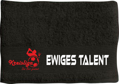 Ewiges Talent - Positionshandtuch