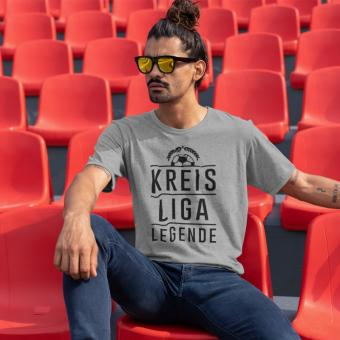 Kreisligalegende - Shirt heather grey