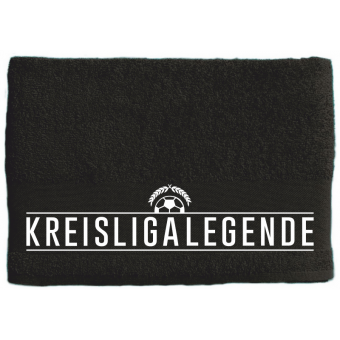 Kreisligalegende - Handtuch black