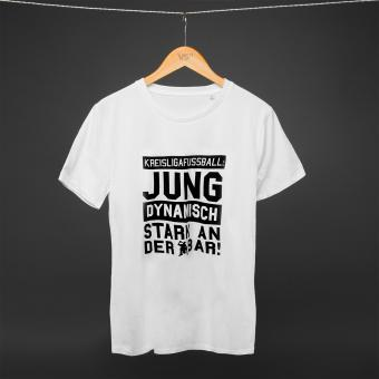 Stark an der Bar - Shirt white L