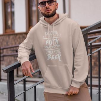 Kreisliga we are here - TC Hoodie soft rose